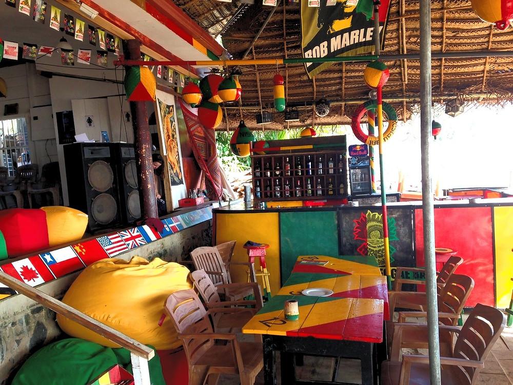 bar reggae mirissa plage