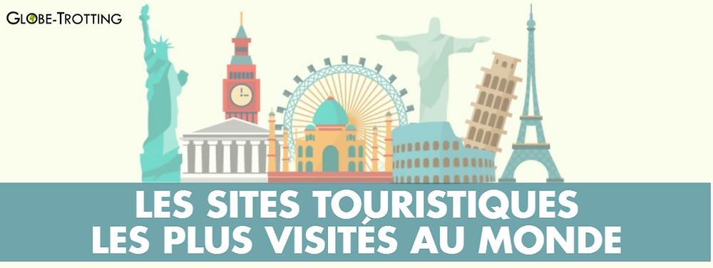 Les sites touristiques les plus visités infographie