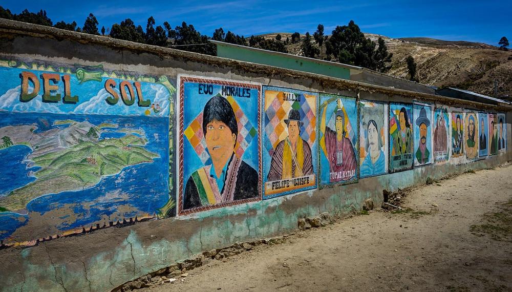 copacabana bolivie street art