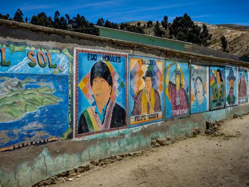 Copacabana, au bord du lac Titicaca en Bolivie