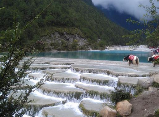 La vallée de la lune bleue, Chine