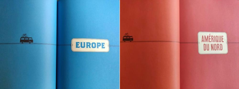 Livre Road Trips Europe Amérique du Nord