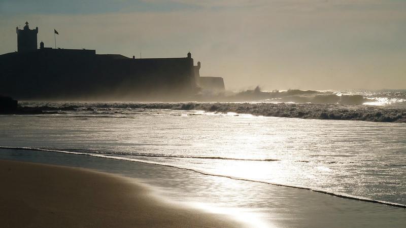 La plage de Carcavelo
