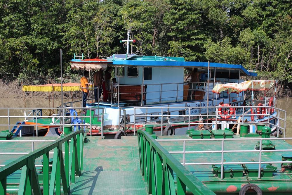 bateau croisière sundarbans