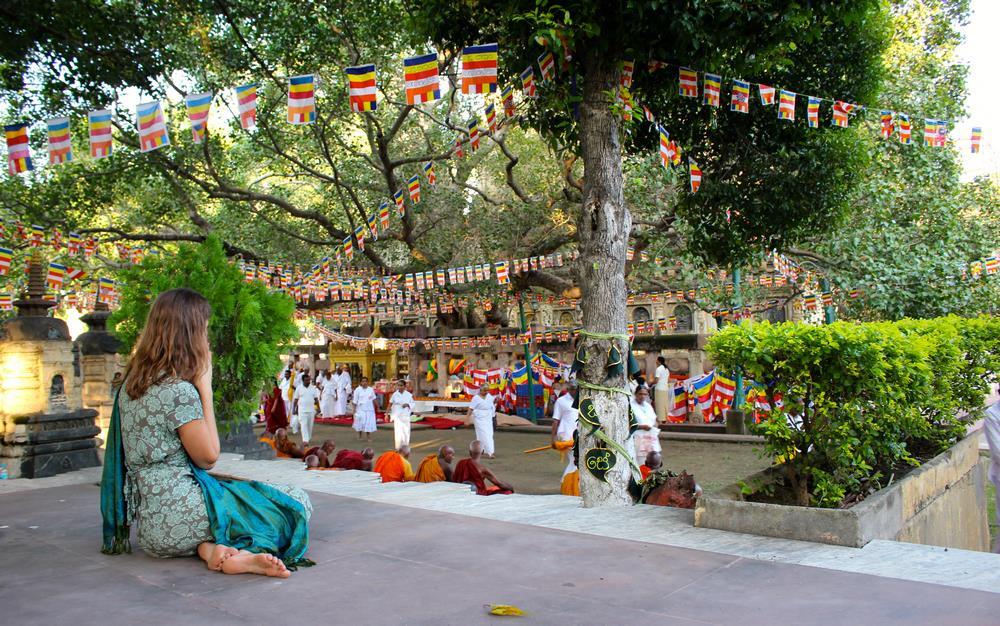 Bodhgaya en Inde