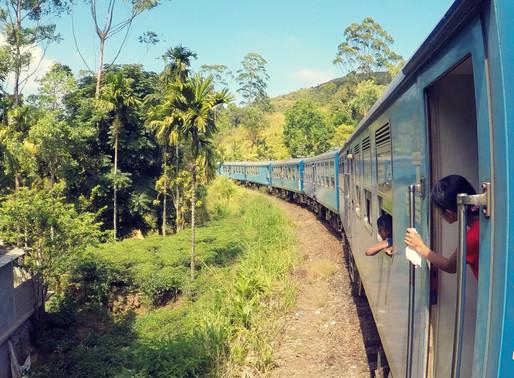 De Ella à Kandy en train, Sri Lanka