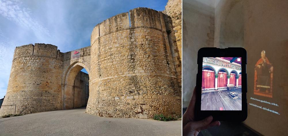 Chateau de Falaise en Normandie médiévale