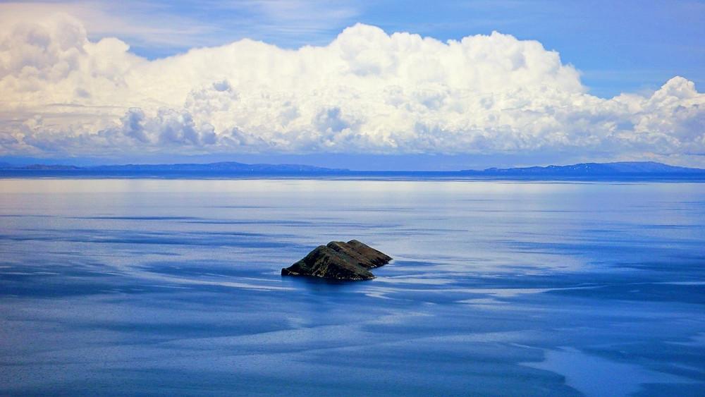 Ile du soleil Bolivie paysage