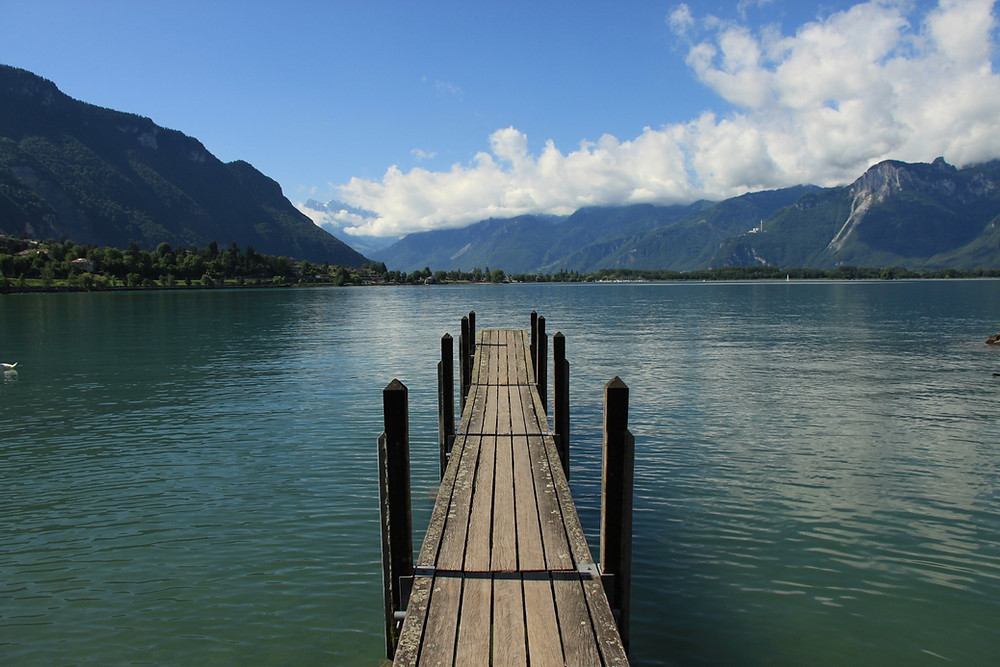 lac léman pont