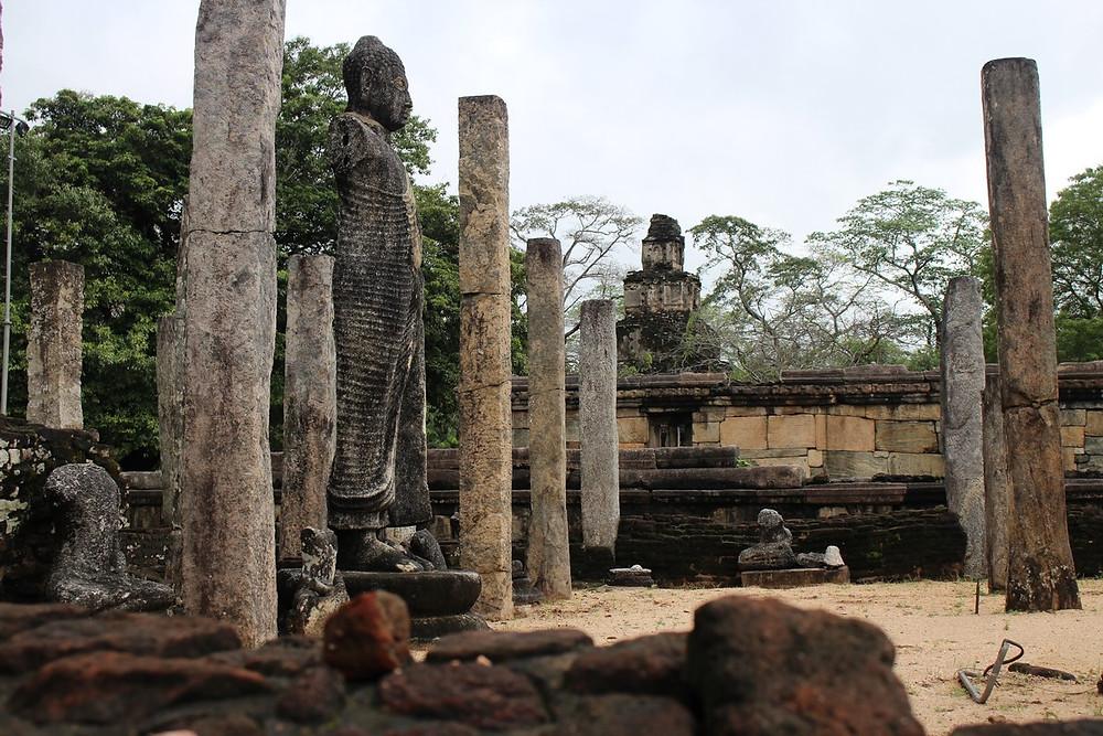 ruines Polonnaruwa Sri Lanka