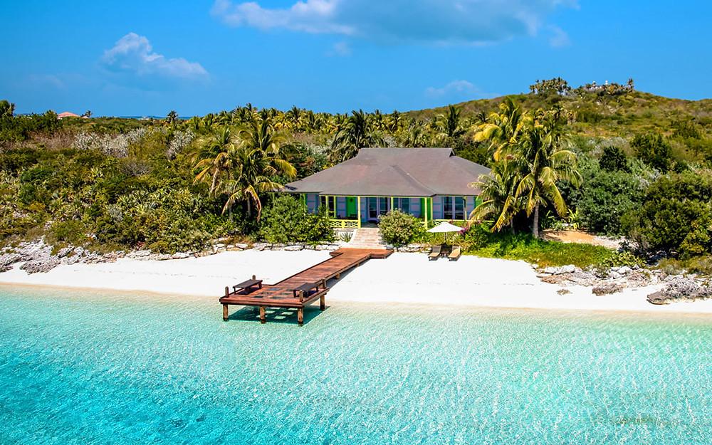 PLAGE Musha Cay BAHAMAS