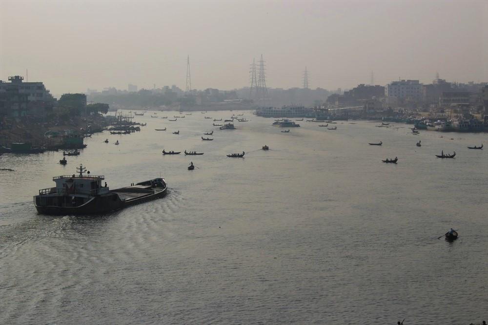 vue sur Dhaka Dacca Bangladesh