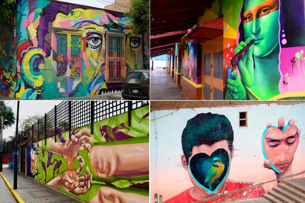 Barranco street art Lima
