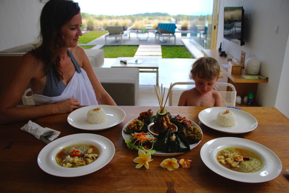 Uluwatu spécialités culinaires
