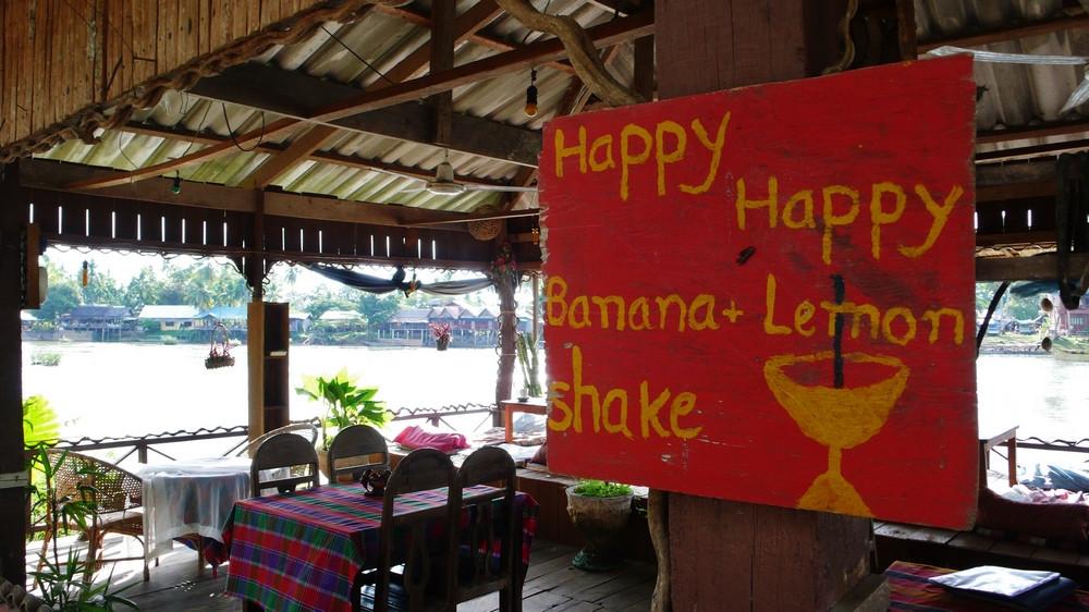 Happy bar Don Det Laos 4000 îles