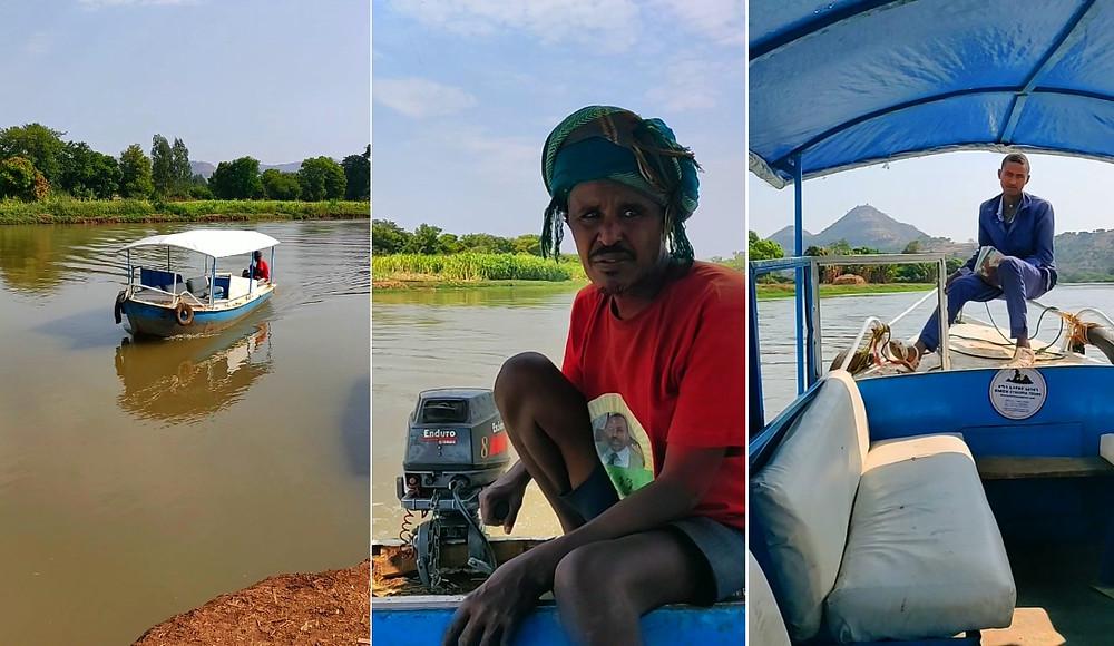 aller chutes du Nil Bleu en Ethiopie