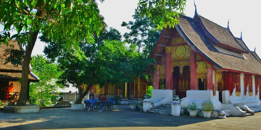 Moines Wat Sok Pa Luang