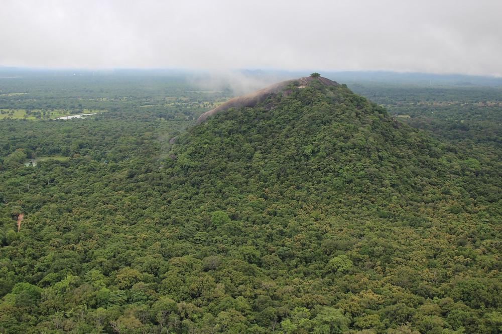 Montagne  Sigîriya au Sri Lanka