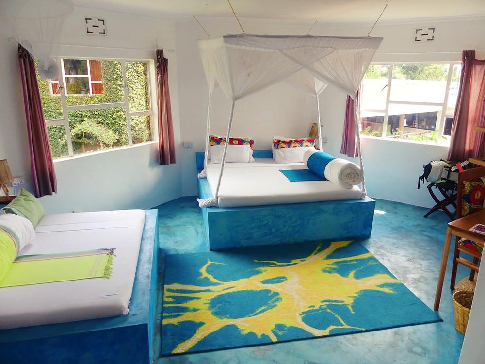 Dan Stam hotel Arusha