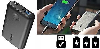 Batterie de voyage