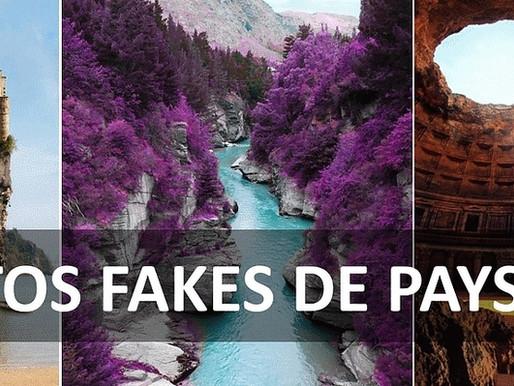 Les photos fake de paysages les plus virales du web