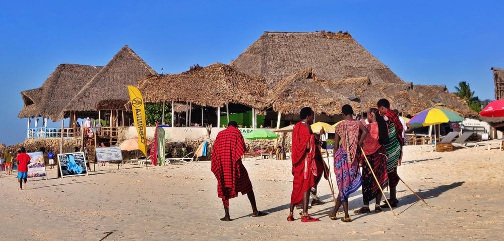 Maasaï beach boys
