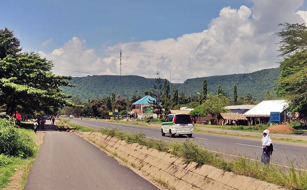 Mto Wa Mbu en Tanzanie