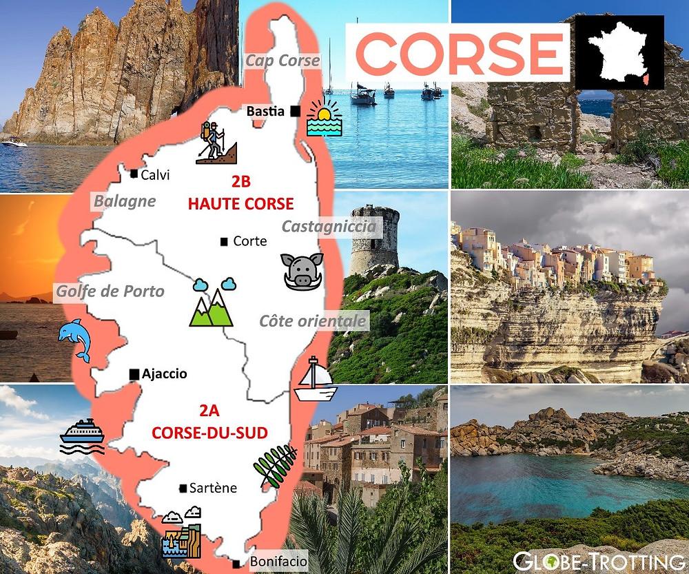 Où partir France Corse