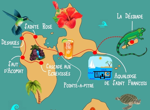 Séjour et Logement insolite en Guadeloupe