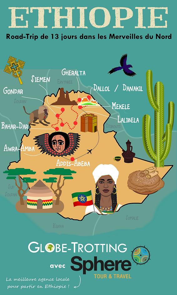 Voyage ethiopie itinéraire