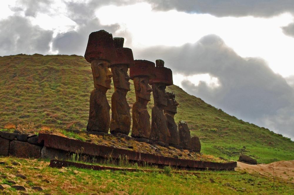 Moaï de l'île de Pâques
