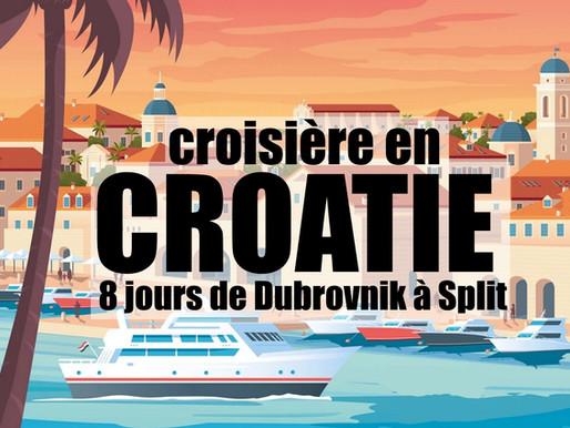 De Dubrovnik à Split  : Croisière en yacht sur les îles de Croatie