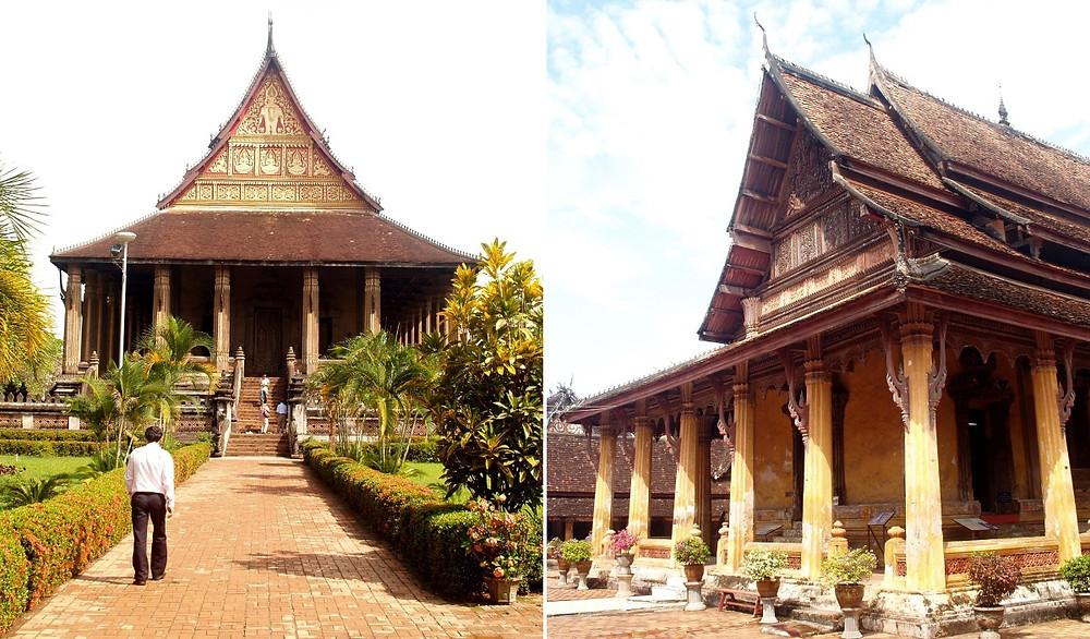 Vientiane temples à visiter