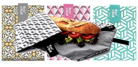 Emballage réutilisable sandwich