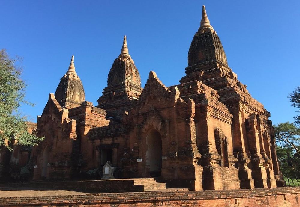 Bagan Visite Temple Paya Thon Zu