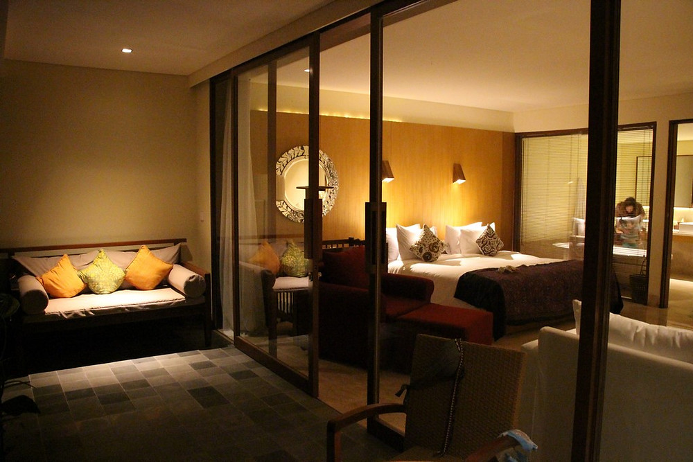 Hotel centre ville d'Ubud Komaneka Rasa Sayang