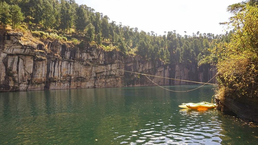 Lac Tritriva canoe kayak