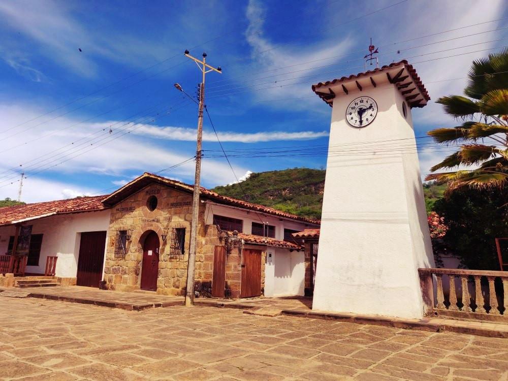 ruelles Guane Colombie