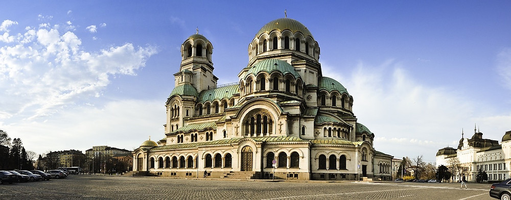Tourisme Sofia Bulgarie Cathédrale Saint Alexander Nevsky