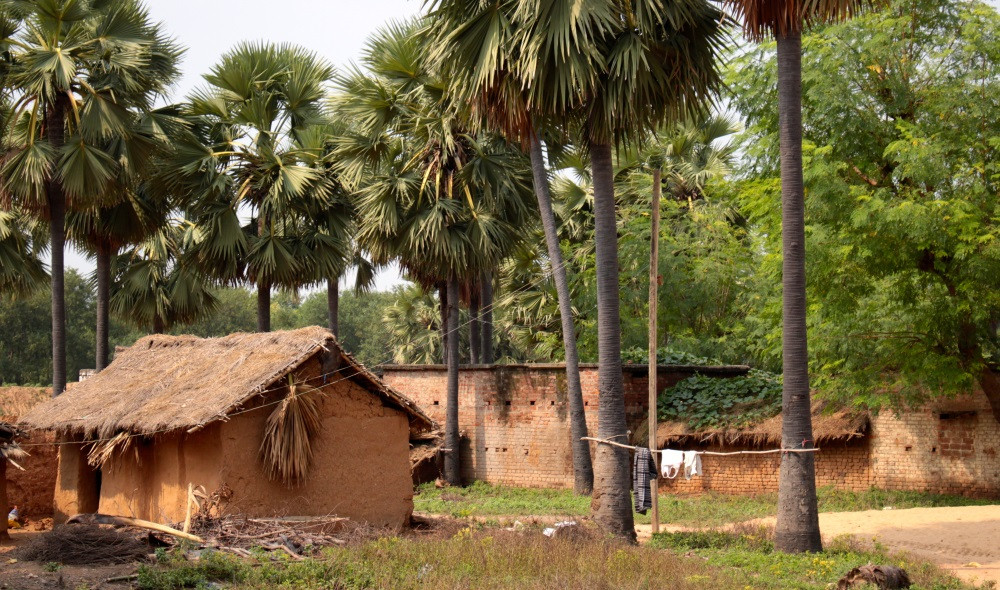 rues de Bodhgaya Inde
