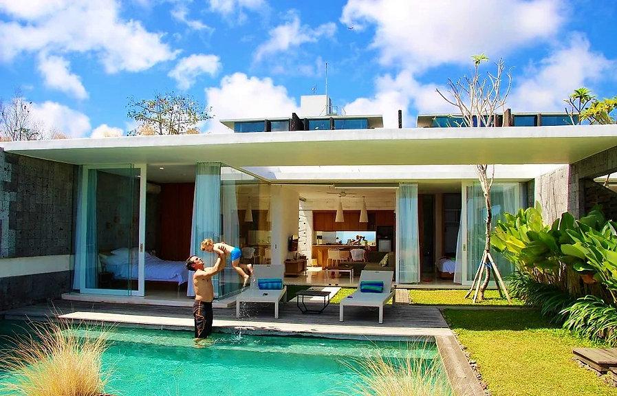 Villa Bali avec enfant