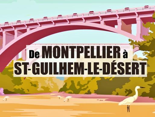 Activités nature dans l'Hérault, de Montpellier à St Guilhem le Désert
