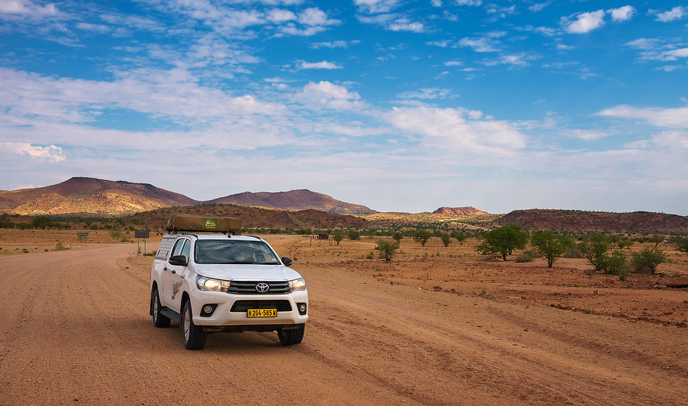 4x4 roof tent namibie