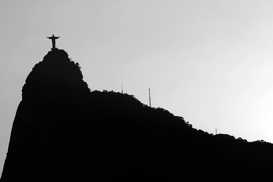 Corcovado au Brésil christ