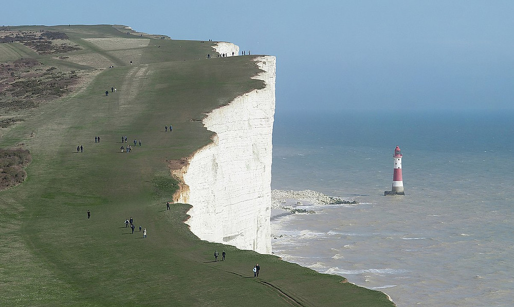 Phare Beachy Head en Angleterre