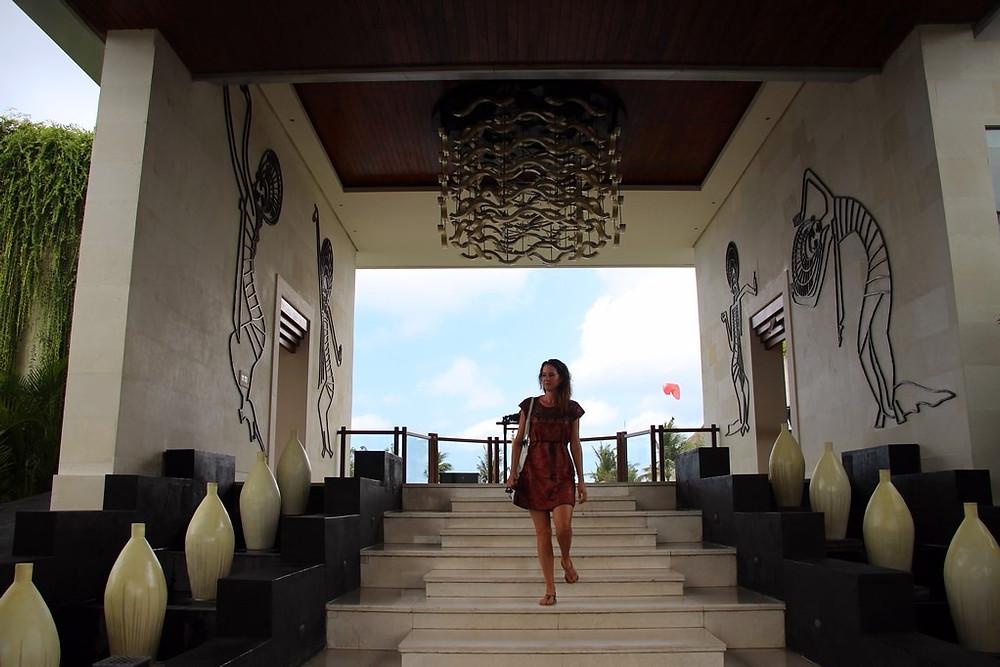 Nusa Dua Hotel reception