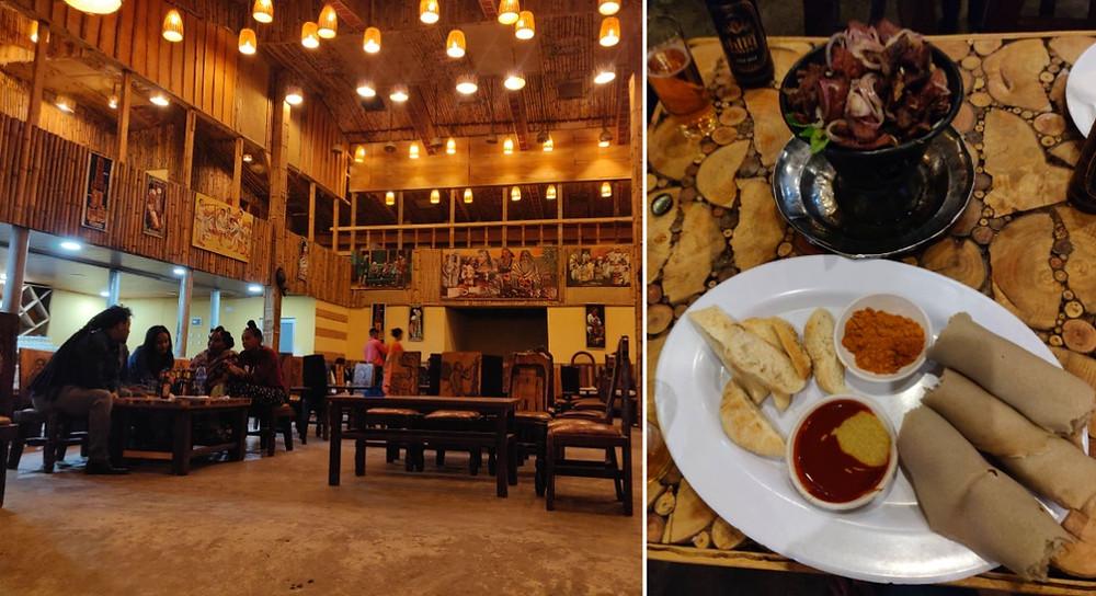 Mekele  restaurant ethiopien