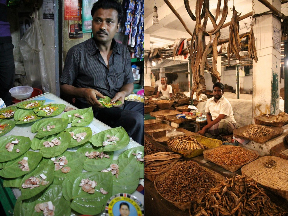 vendeurs béthel Srimangal Bangladesh