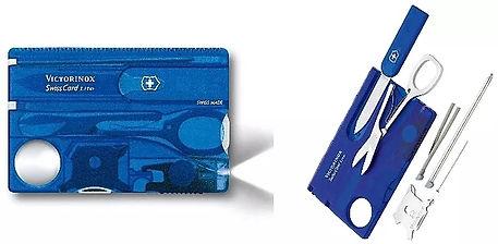 Gadget couteau suisse voyage