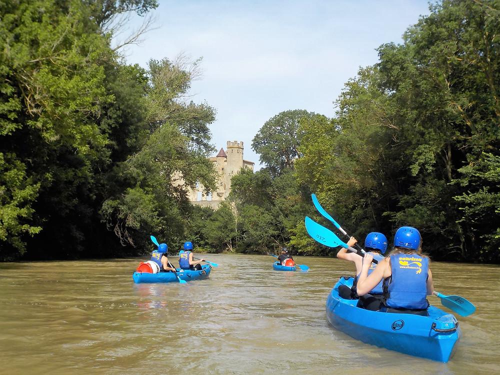 Canöé-Kayak sur l'Aude